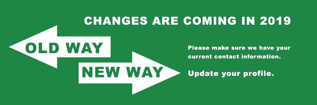Changes are coming in 2019