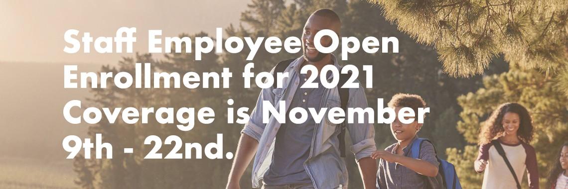 Staff Enrollment 20201